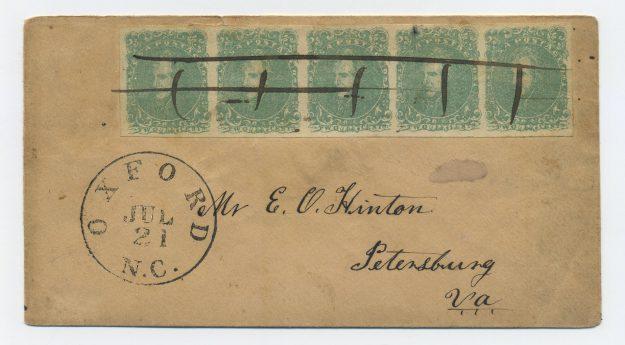 Oxford, NC, July 21, CA 1863