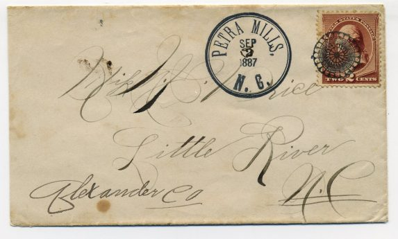 Petra Mills, NC, Sept. 3, 1887